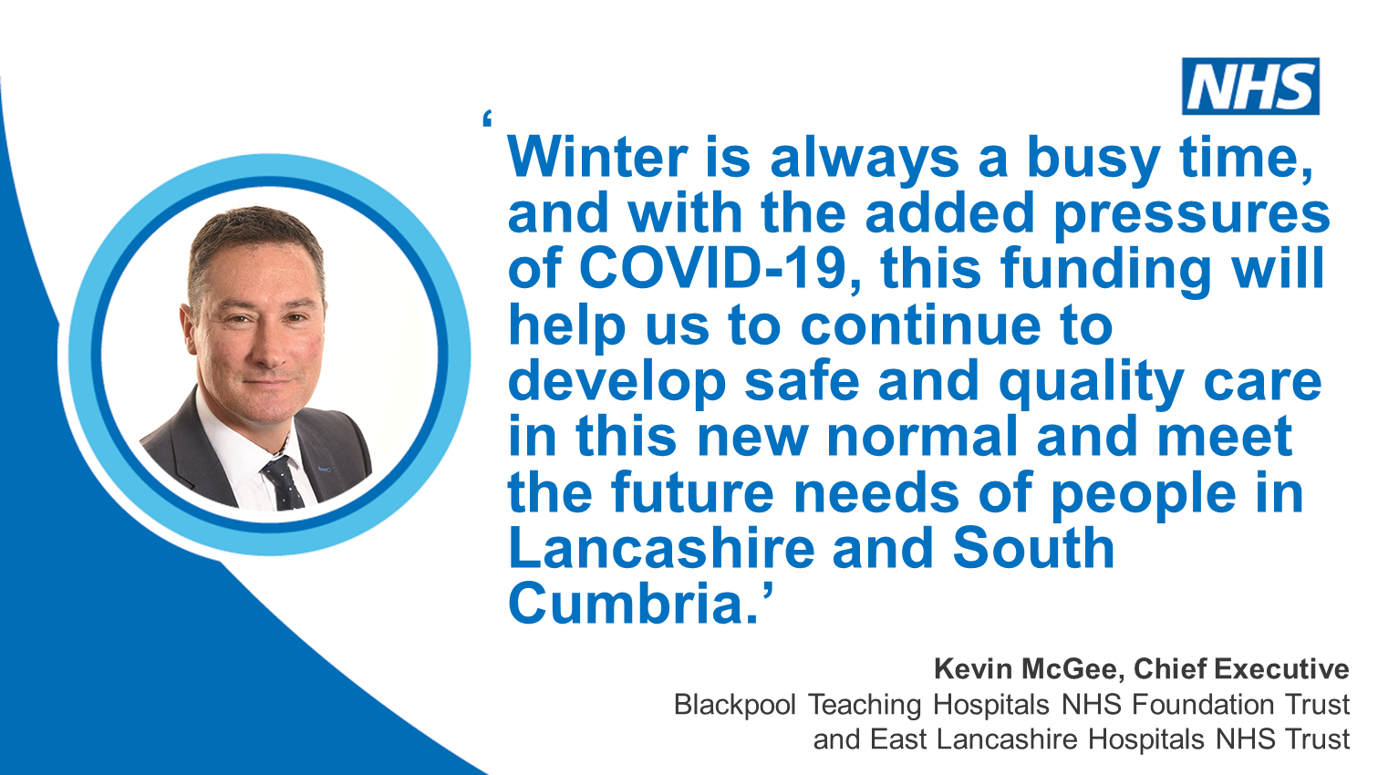 Lancashire and South Cumbria hospitals receive £10.2m to prepare for winter